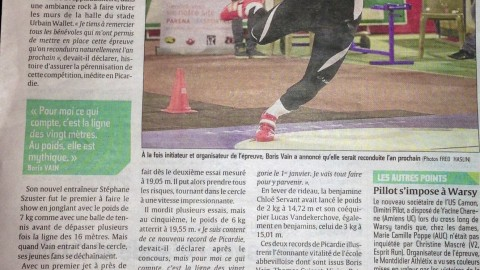 Bilan Shot put party 2012