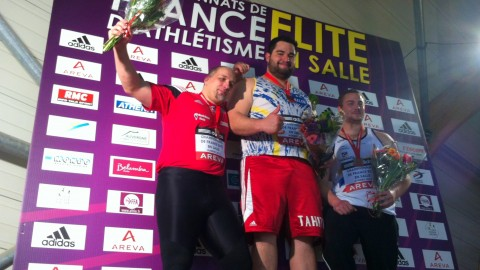 Feed back – Chpts de France Elite indoor 2012 à Aubière