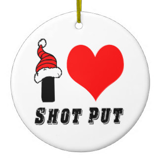 shot put chritsmas
